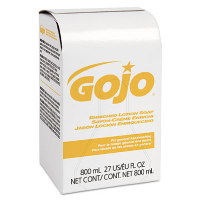 GOJO Enriched Lotion Soap Bag-In-Box Refill - Herbal Floral Scent
