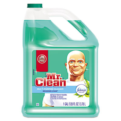 Mr. Clean Multipurpose Cleaning Solution With Febreze Case Meadows & Rain