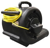 black air mover rear view