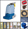 Self-Contained Carpet Scrubbing Package with Accessories
