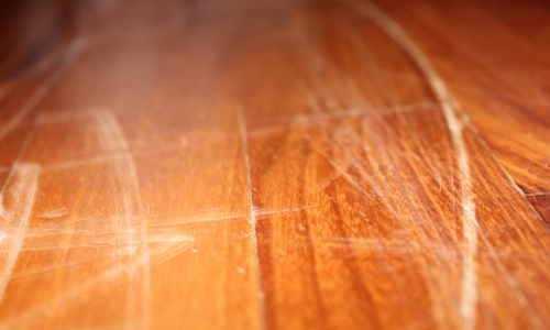The Janitor's Closet - Problem: Finish Swirls Or Scratches In - How To Fix Scratches In Wood Floor WB Designs