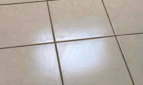 The janitor s closet problem streaks in floor finish for Mop on concrete floor wax