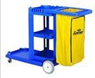 Janitorial cleaning cart.