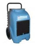 Flood restoration portable dehumidifier.