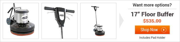 Trusted clean 17 inch cg floor machine for 17 inch floor buffer