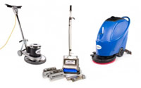 Hard Floor Machines, Pads & Supplies