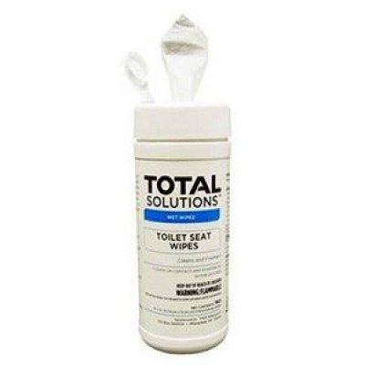 Total Solutions™ Toilet Seat Wipes