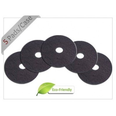 18 inch Black Floor Stripping Pads