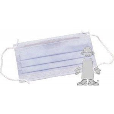 Ear Loop Pleated Surgical Mask