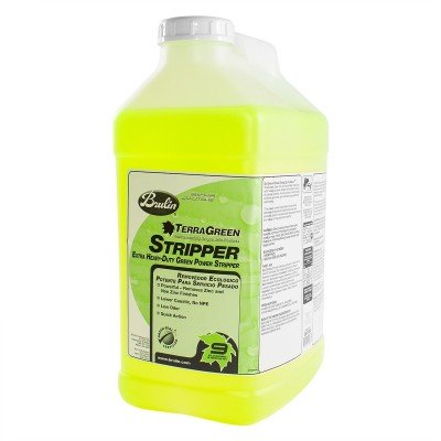 Green Floor Stripping Chemical Solution
