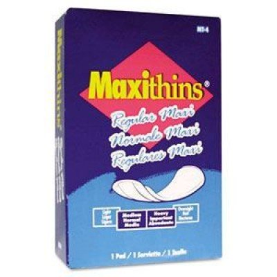 Hospeco Maxithins Panty Shields & Liners