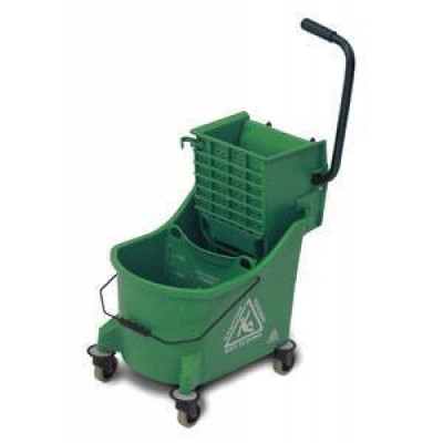 Green Kitchen Cleaning Mop Bucket