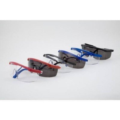 Safety Glasses - Smoke Lens