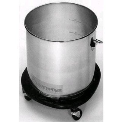 Stainless Steel Round Bucket with Bumper