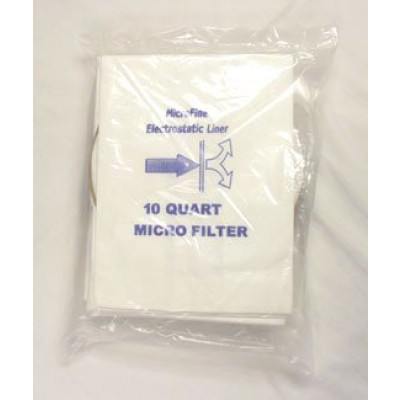 10 Quart Universal Backpack Vac Replacement Bags