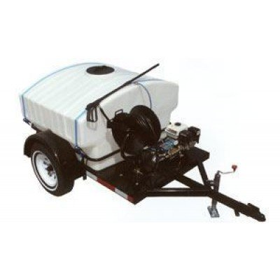 4000 PSI Trailer Mounted Power Washer