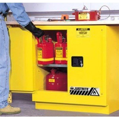 Yellow Under Counter Fire Safety Cabinet