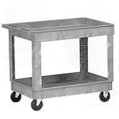 Two Shelf Utility Janitorial Cart