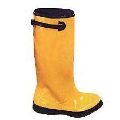 Yellow Rubber Slush Boots