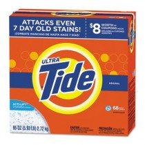 Case of Tide HE Laundry Detergent, 95 oz Boxes