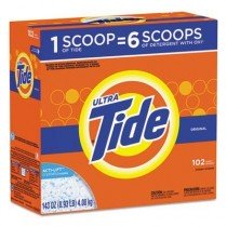 Case of Tide Ultra Powder Laundry Detergent, 143oz Boxes