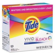Case of Tide Laundry Detergent with Bleach, 144oz Boxes