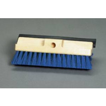 Deck Scrub Brush with Squeegee