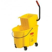 Rubbermaid 35 Quart Sidepress Mop Bucket