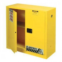 Yellow Fire Safety Cabinet