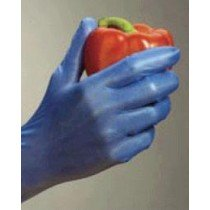 High Five Blue Vinyl Food Safe Gloves