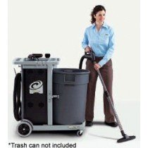 ProTeam Janitorial Cart Battery Vacuum