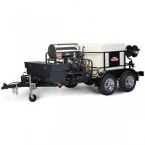 Double Axle Trailer Mounted Power Washer